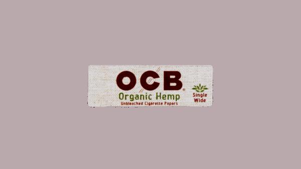 OCB Organic Hemp Single Wide Papers