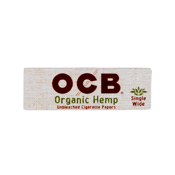 OCB Organic Hemp Single Wide Papers