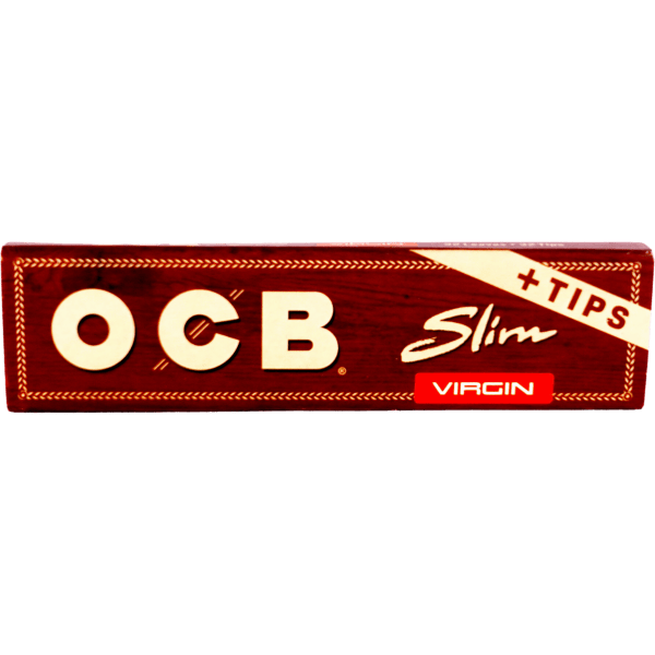 OCB Slim (King) Papers with Tips
