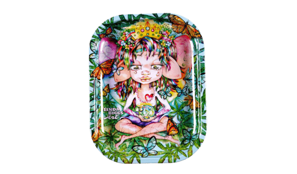 Artistic Tray: Always a beautiful and dreamy fairy by Artist Linda Biggs