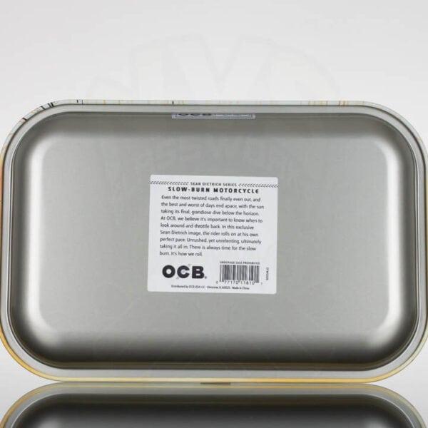 OCB MediumTray (back) Slow Burn Motorcycle