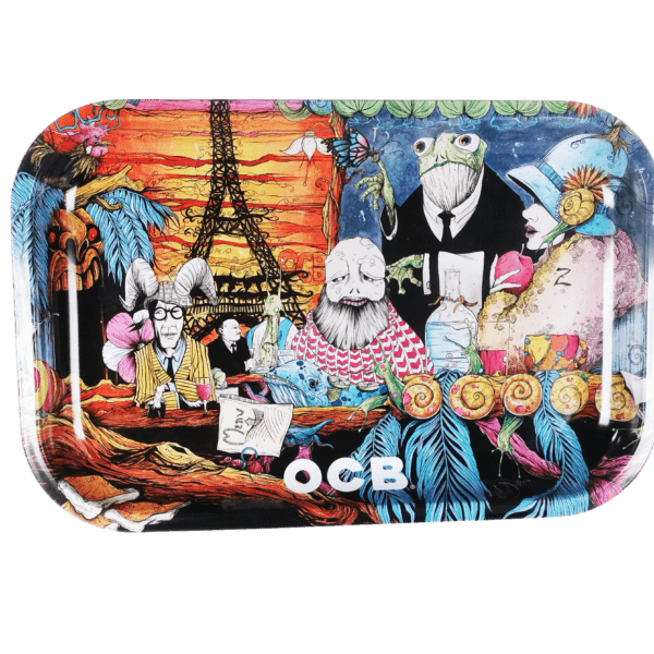 OCB Artistic Tray: Paris Cafe by Artist Sean Dietrich