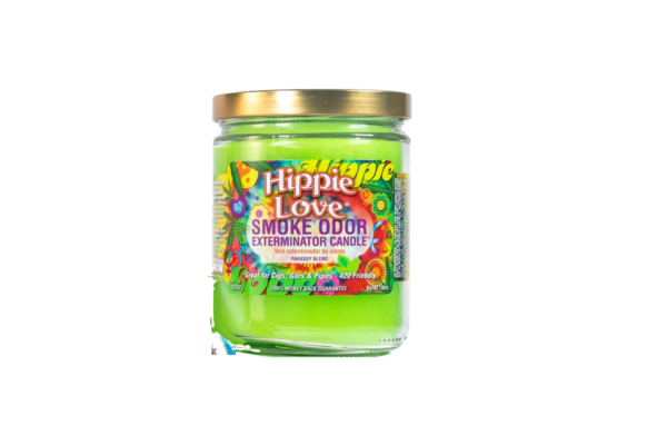 Smoke Odor Eliminator Hippie Love Candle