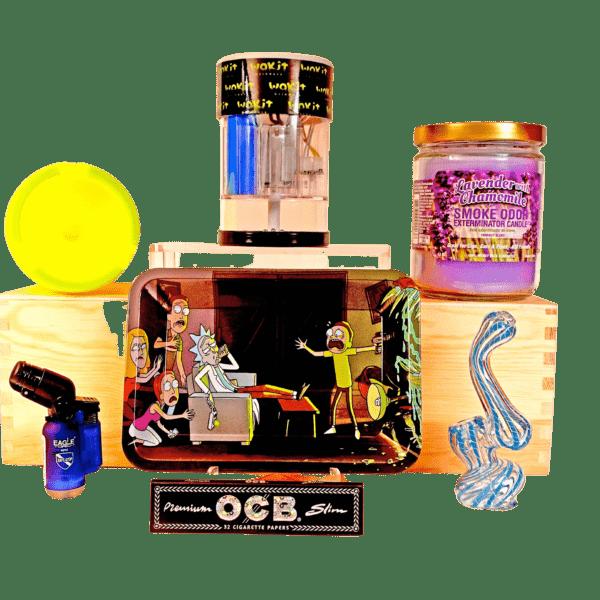 Wakit Grinders Bundle II w lavender candle