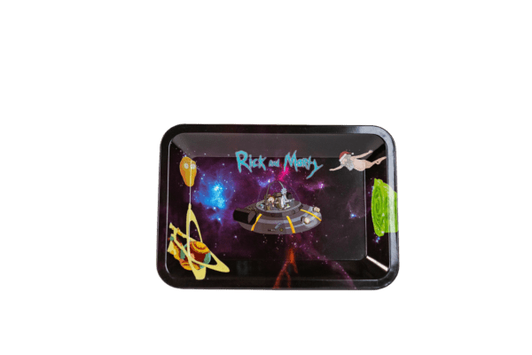 Rick and Morty Artistic Tray