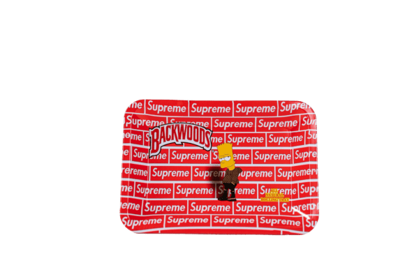 Backwoods Supreme Bart Simpson Artistic Tray