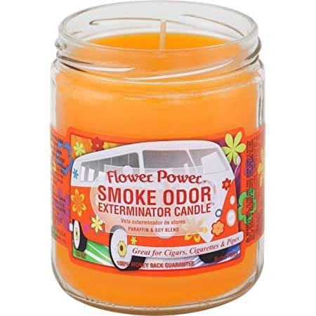 Flower Power Smoke Odor Eliminator Candle