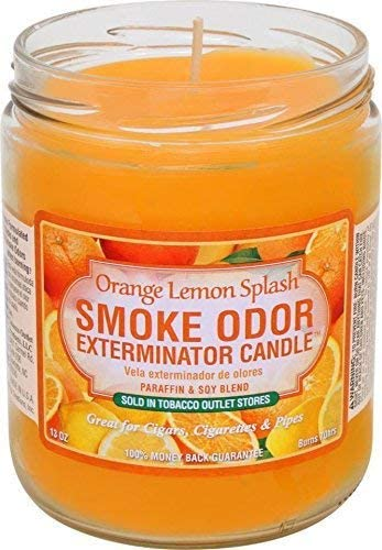 OrangeLemonSplashCandle