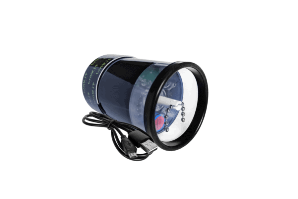 Wakit Grinders KLR Black (ball & chain view)