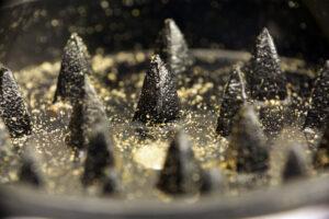 Metal Tooth Grinders Waste Weed