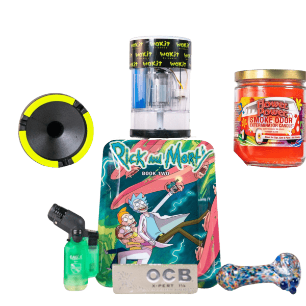 Sesh Kit Rick and Morty with Wakit Grinders