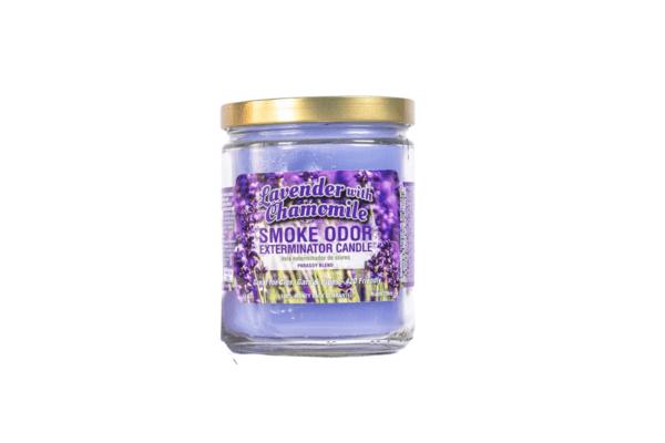 Smoke Odor Eliminator Candle Lavender with Chamomile